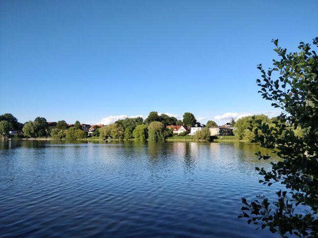Gentofte sø.