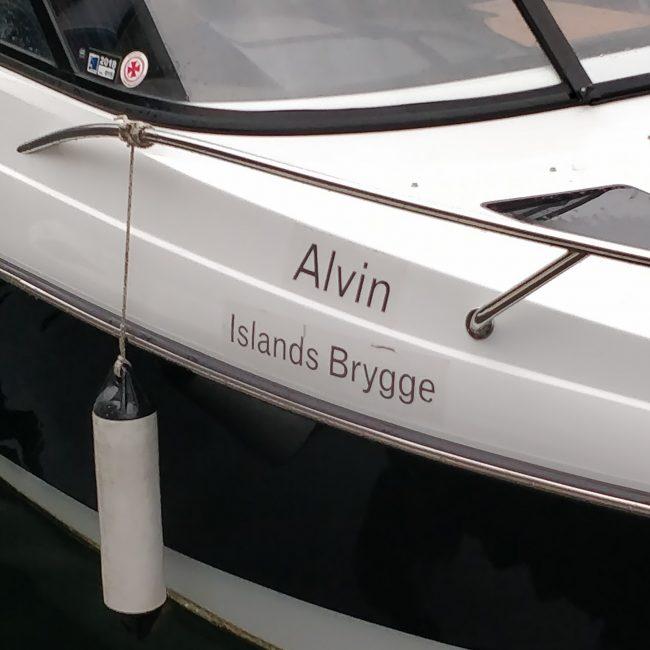 Alvin, Islands Brygge